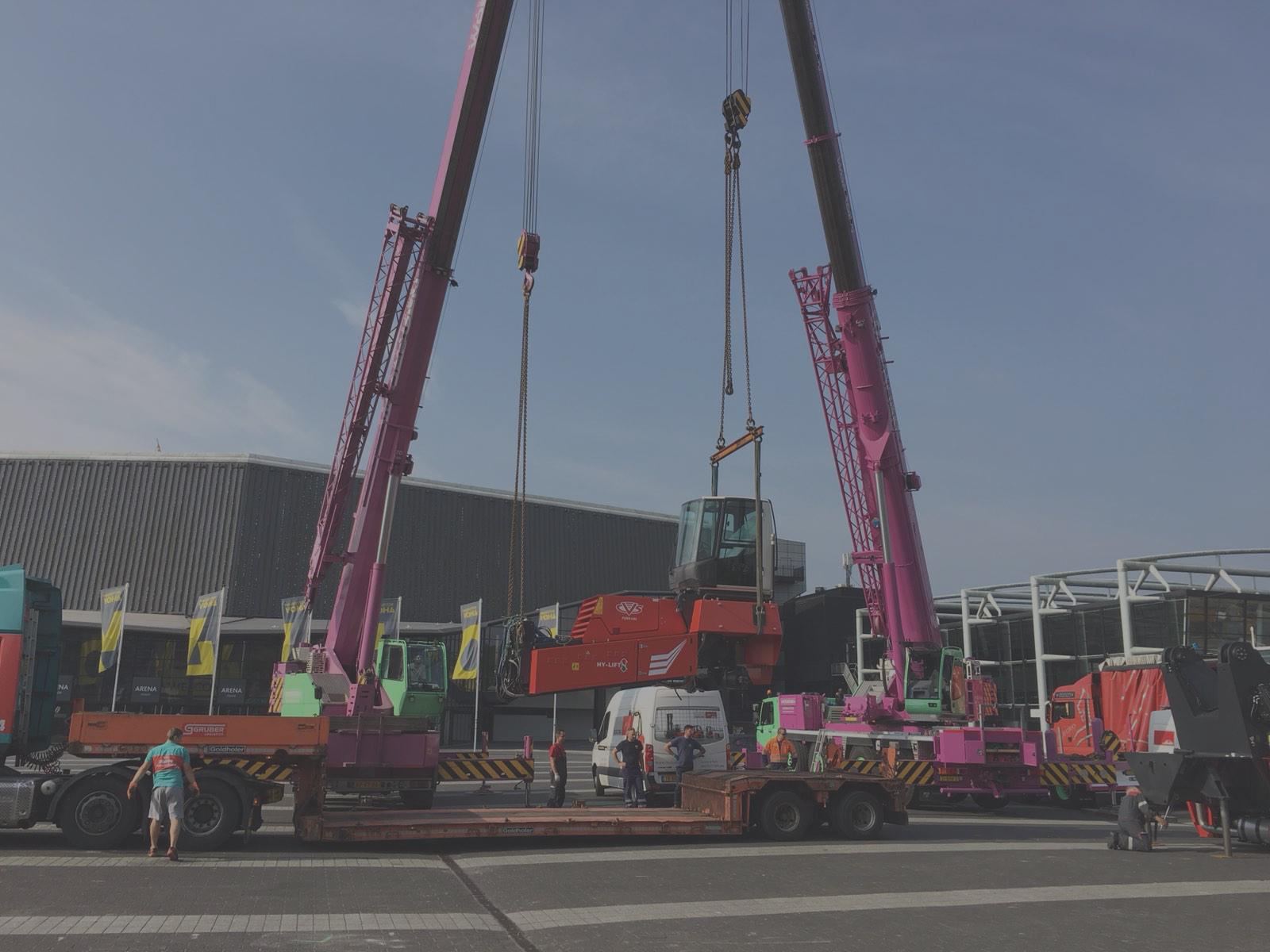 In-actie-AHOY-Rotterdam Kraanverhuur Woerden